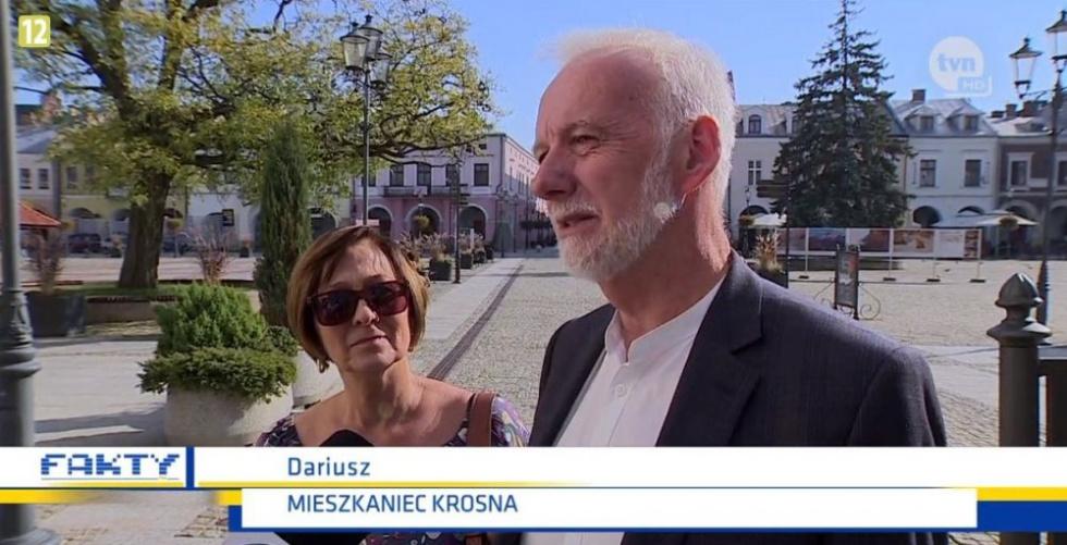 Z PODKARPACIA. Wpadka TVN24, z której śmieje się całe miasto - Zdjęcie główne