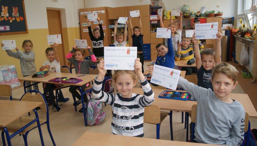 Projekt matematyczny w Szkole Podstawowej w Tuszowie Narodowym - Zdjęcie główne