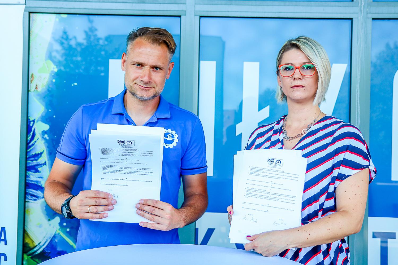 Akademia PGE FKS Stal Mielec z nową umową partnerską - Zdjęcie główne