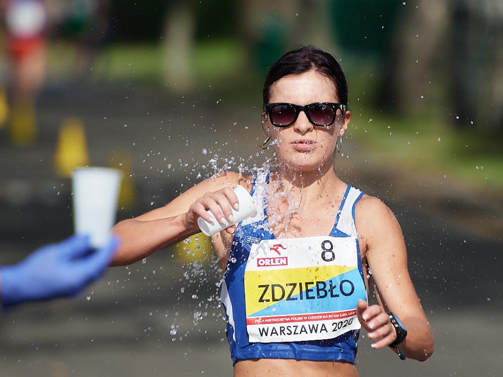 Ozłocona Katarzyna Zdziebło - Zdjęcie główne