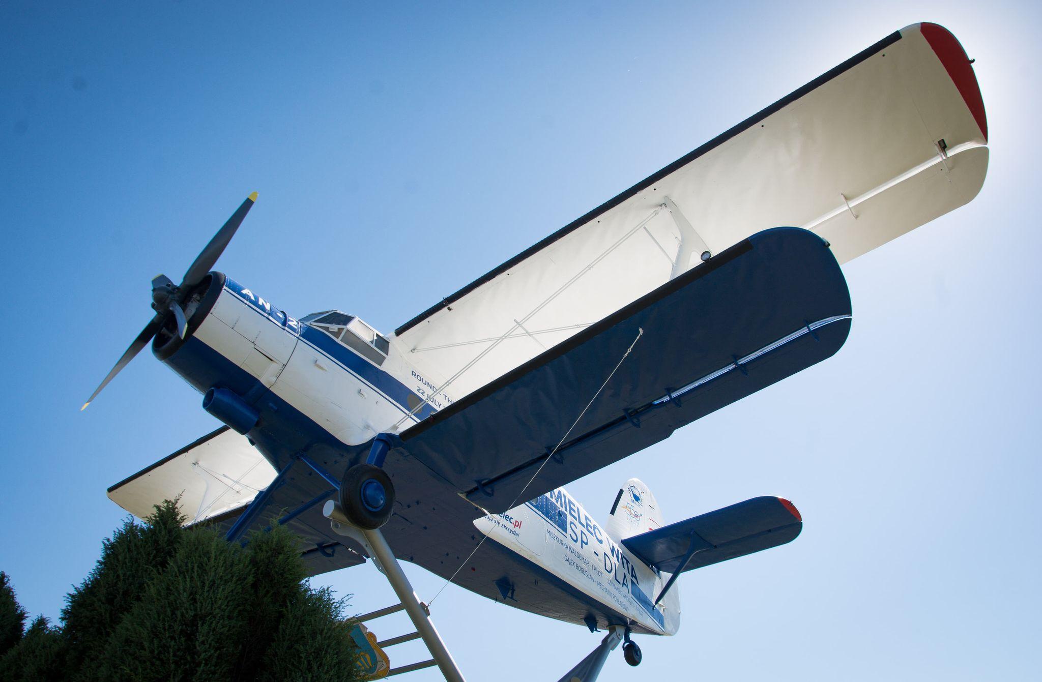 ROZMOWY Z KORSO: Legendarny samolot AN-2 zyskał nowe barwy [VIDEO]  - Zdjęcie główne