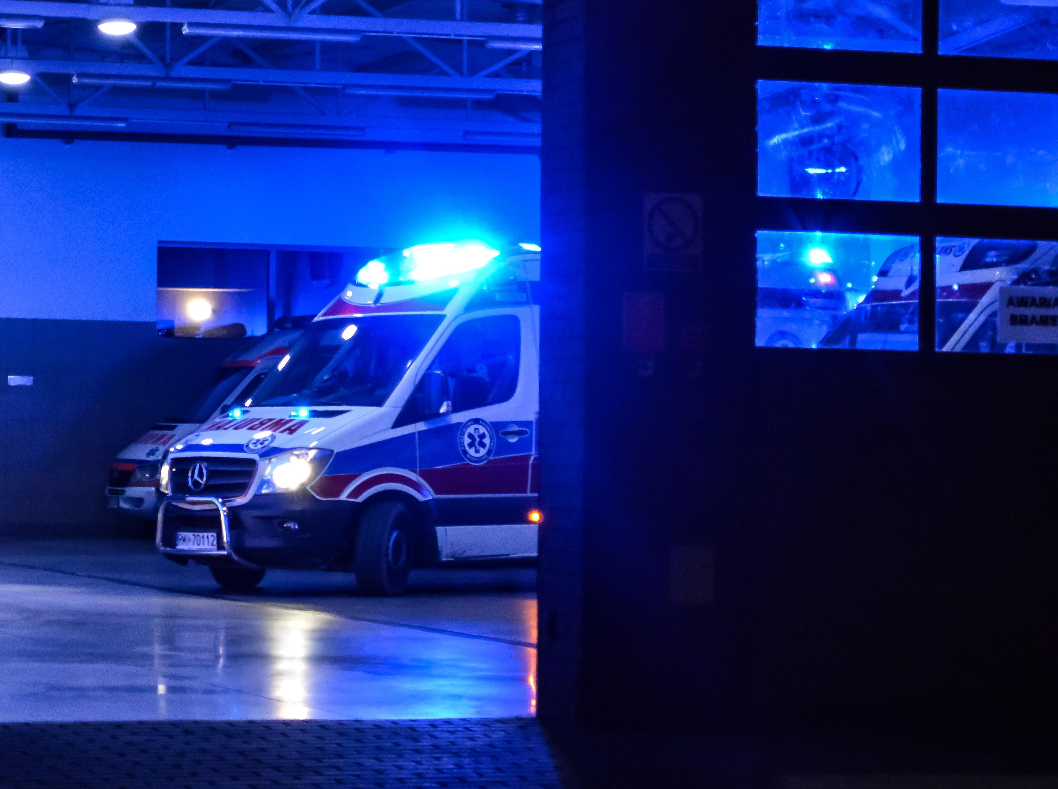 Nocna interwencja służb ratunkowych przy ul. Kusocińskiego. Co się wydarzyło?  - Zdjęcie główne