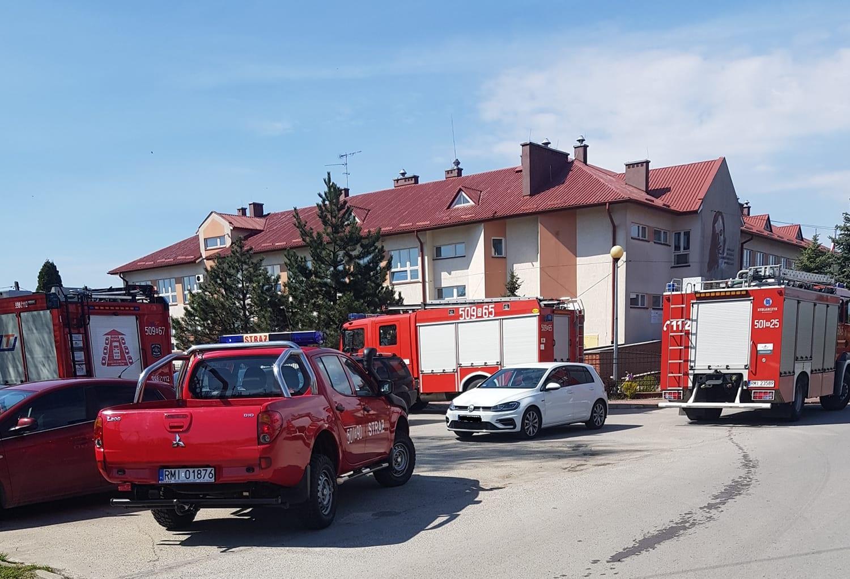 Alarm bombowy w  Przecławiu - Zdjęcie główne