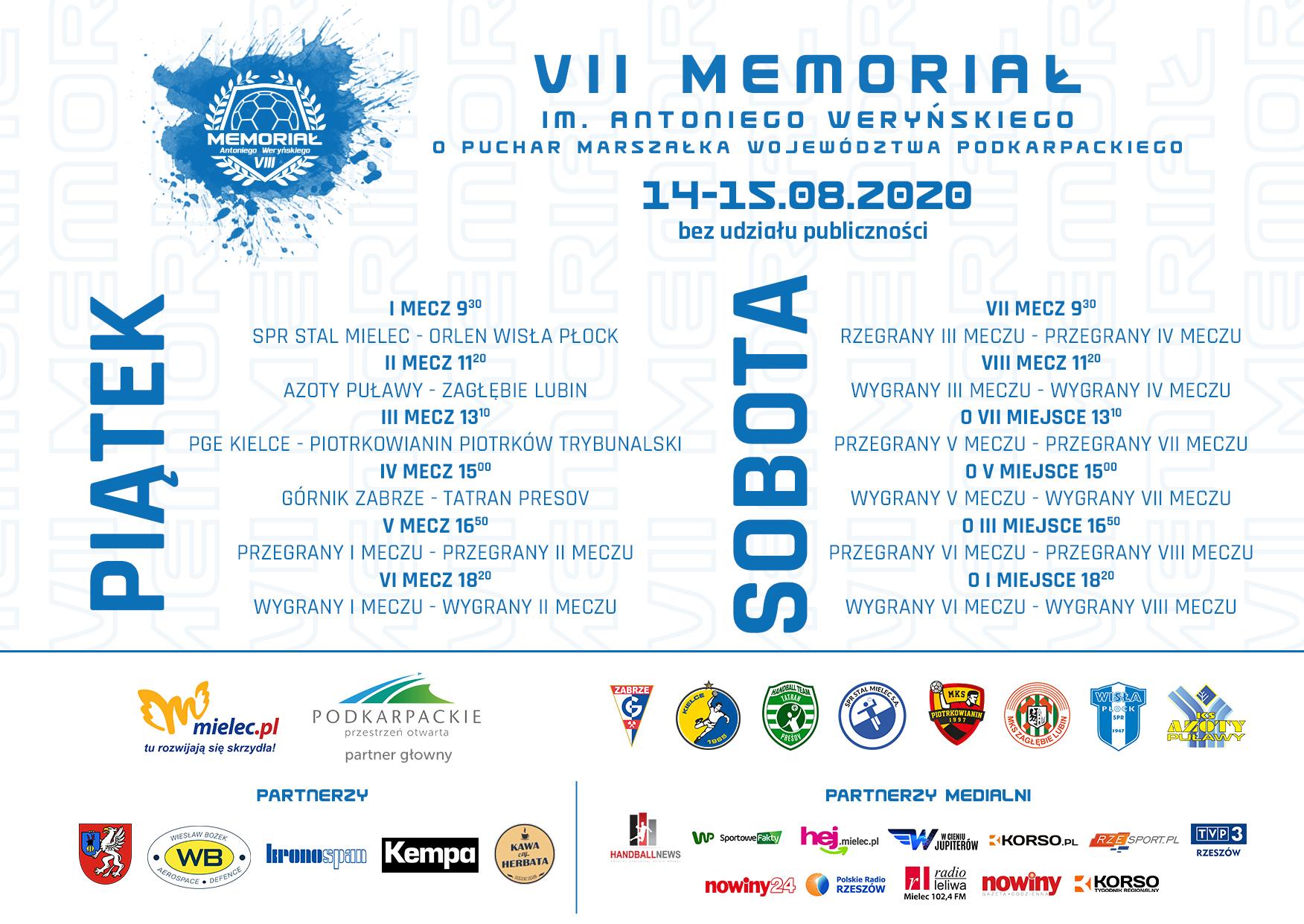 Mielec centrum polskiej piłki ręcznej. Piątek i sobota pod znakiem Memoriału im. Antoniego Weryńskiego  - Zdjęcie główne
