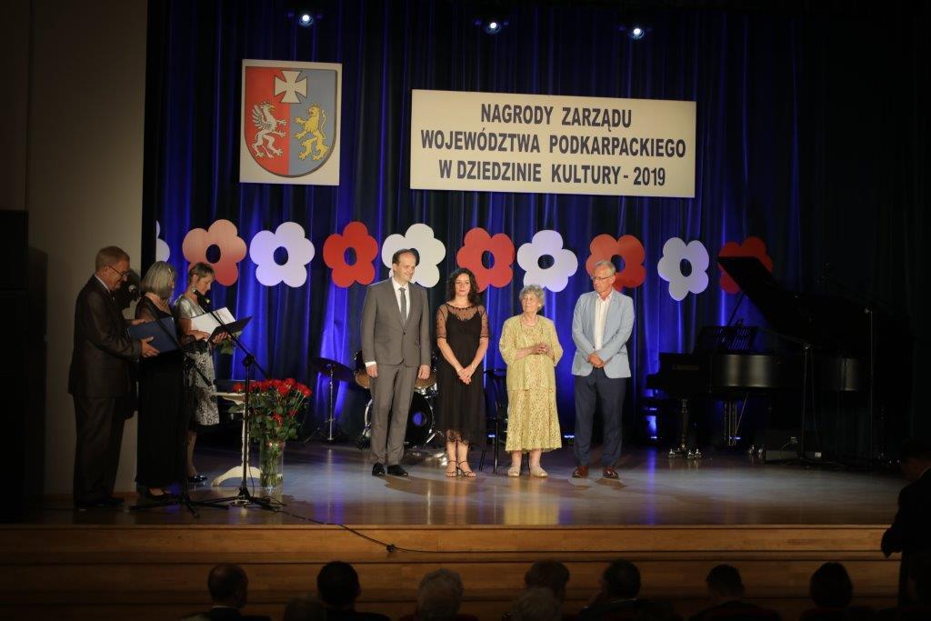 Nagrody Zarządu Podkarpackiego w dziedzinie kultury wręczone. Trafiły one także do Mielczan!  - Zdjęcie główne