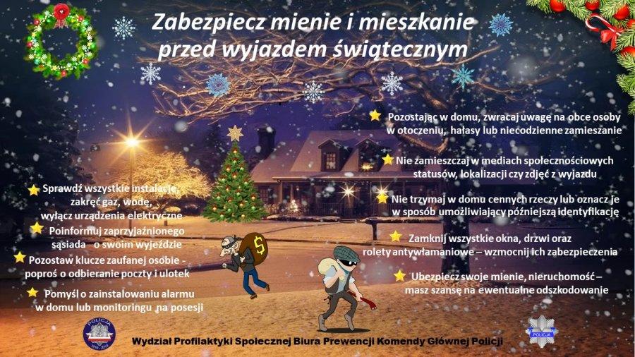 Już wkrótce rozpoczniemy świąteczne wyjazdy do bliskich. W tych dniach nie zapominajmy o swoim bezpieczeństwie - Zdjęcie główne