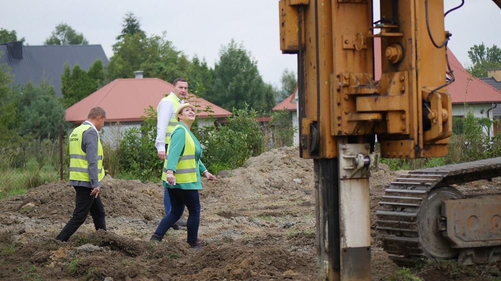 Nowa inwestycja w Przecławiu. Trwają prace na stacji hydroforowej [VIDEO] - Zdjęcie główne