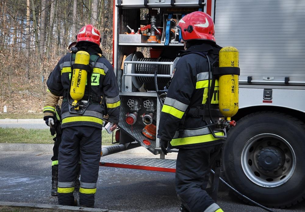 Strażacy otrzymali zgłoszenie o pożarze domu  - Zdjęcie główne