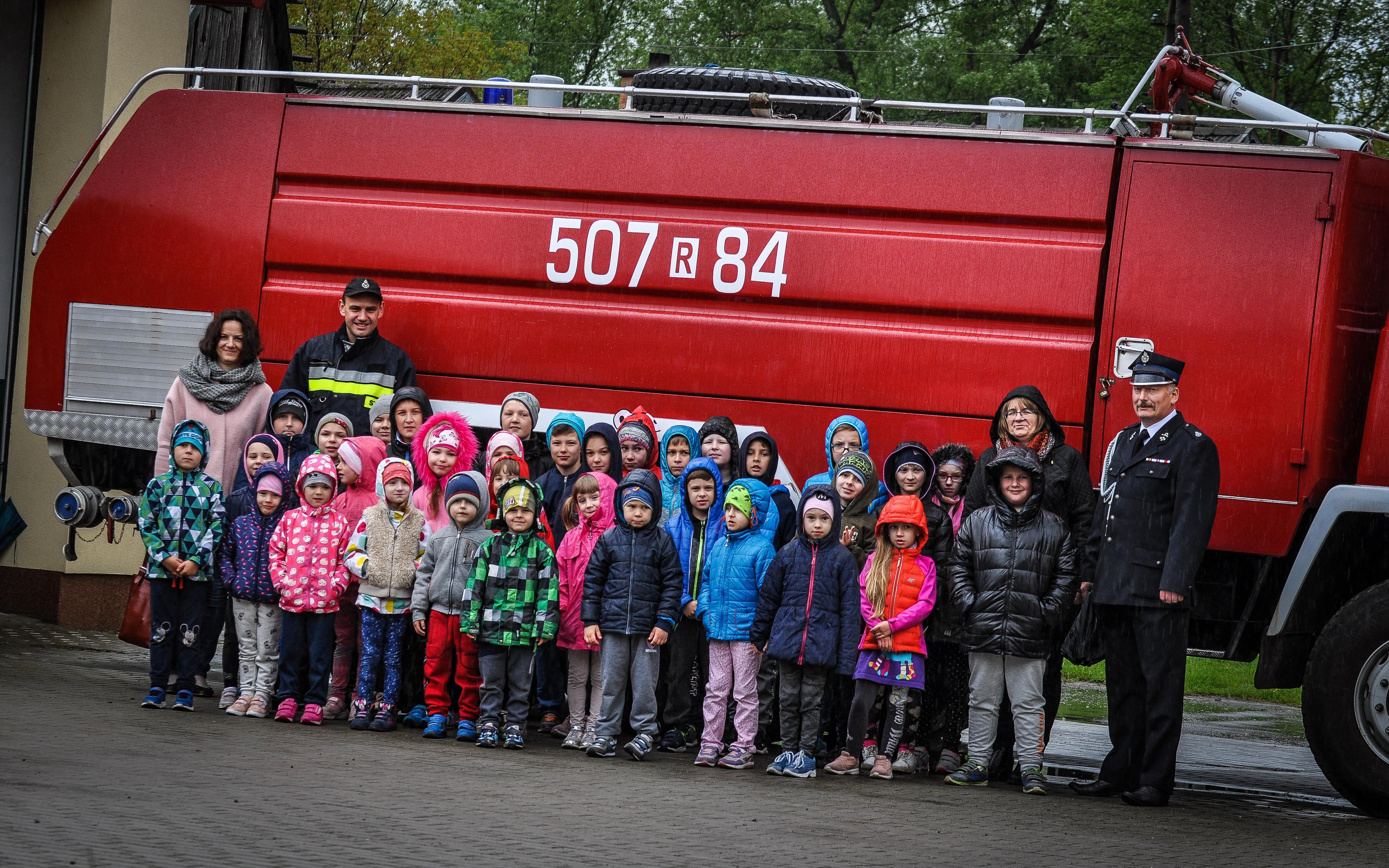 Dzieci odwiedziły OSP Borki Nizińskie [FOTO] - Zdjęcie główne