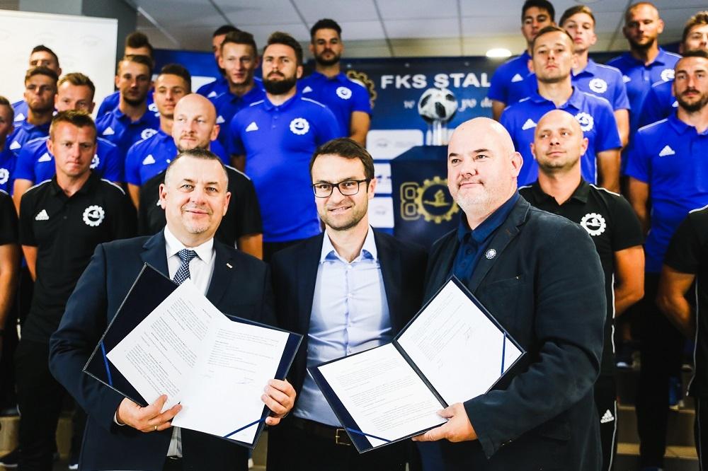PGE kontynuuje sponsoring tytularny PGE FKS Stali Mielec [WIDEO] - Zdjęcie główne