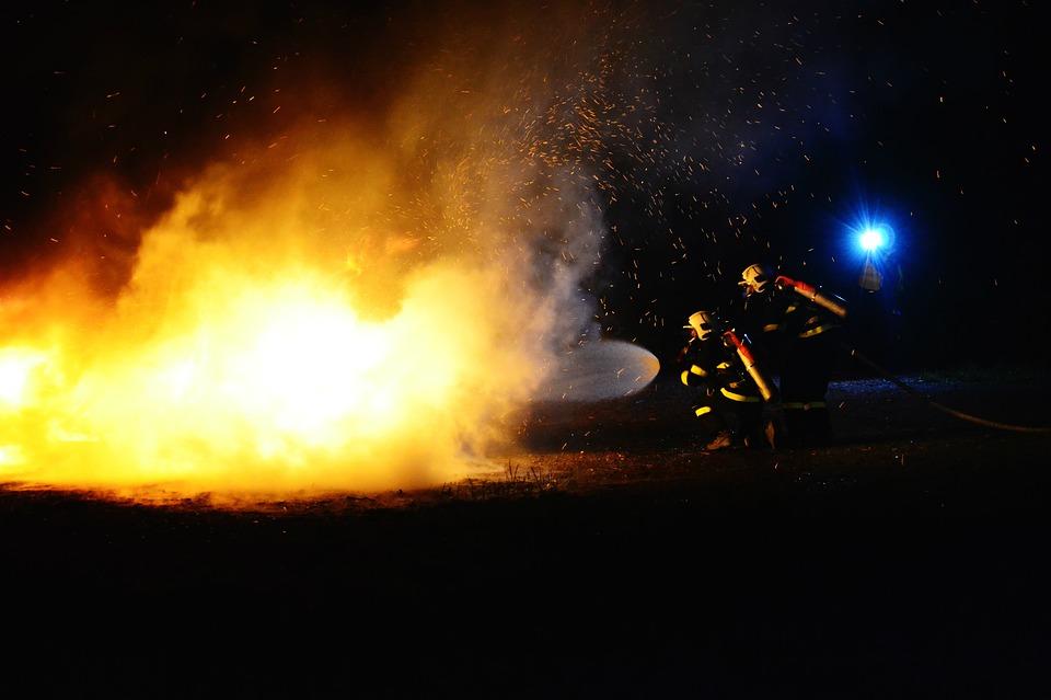 Dwie ofiary pożaru domu  - Zdjęcie główne