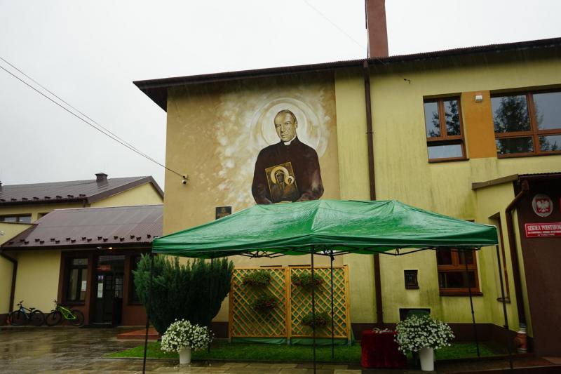 Mural w Tuszymie jest już gotowy [ZDJĘCIA] - Zdjęcie główne