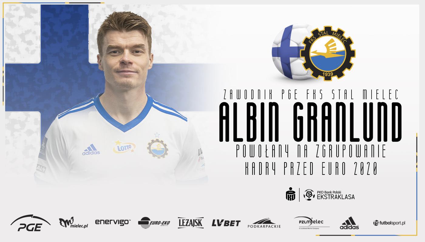 Albin Granlund powołany do reprezentacji Finlandii. Ma szansę zagrać na EURO  - Zdjęcie główne