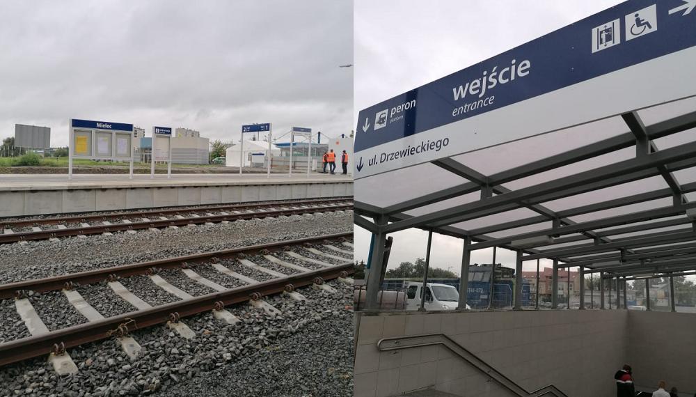 Ruszają pociągi na linii Mielec - Dębica [FILM] - Zdjęcie główne