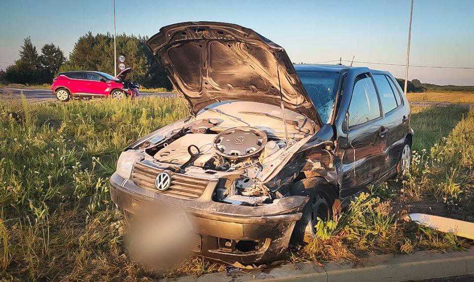 Wypadek w Tuszowie Narodowym. Jedna osoba trafiła do szpitala [FOTO, VIDEO] - Zdjęcie główne