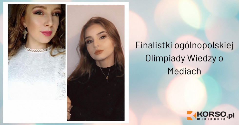 Amelia Dudek i Natalia Tylutka wystąpią w etapie wojewódzkim olimpiady o mediach - Zdjęcie główne