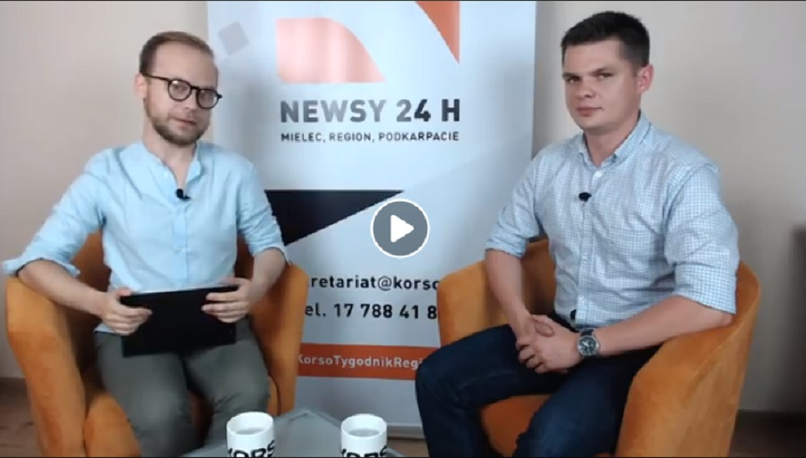Rozmowy z Korso - wójt Michał Deptuła - Zdjęcie główne