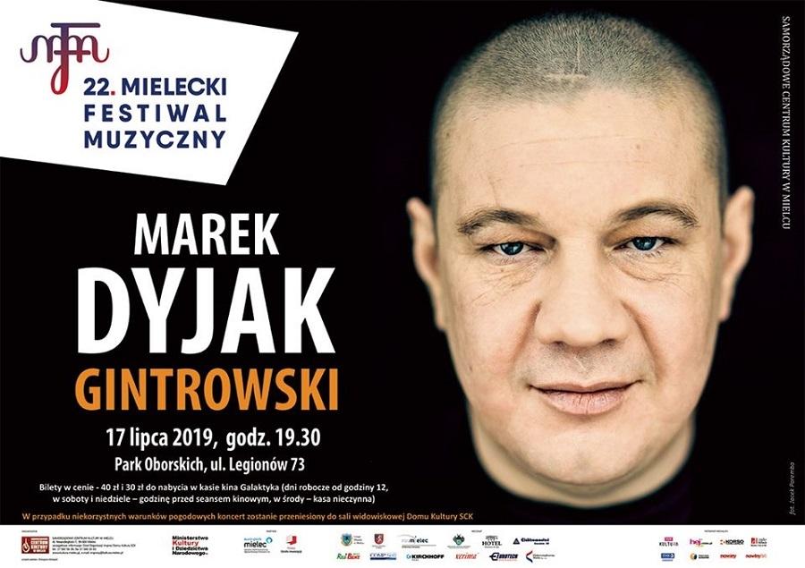Koncert Marka Dyjaka zgodnie z planem w plenerze! - Zdjęcie główne