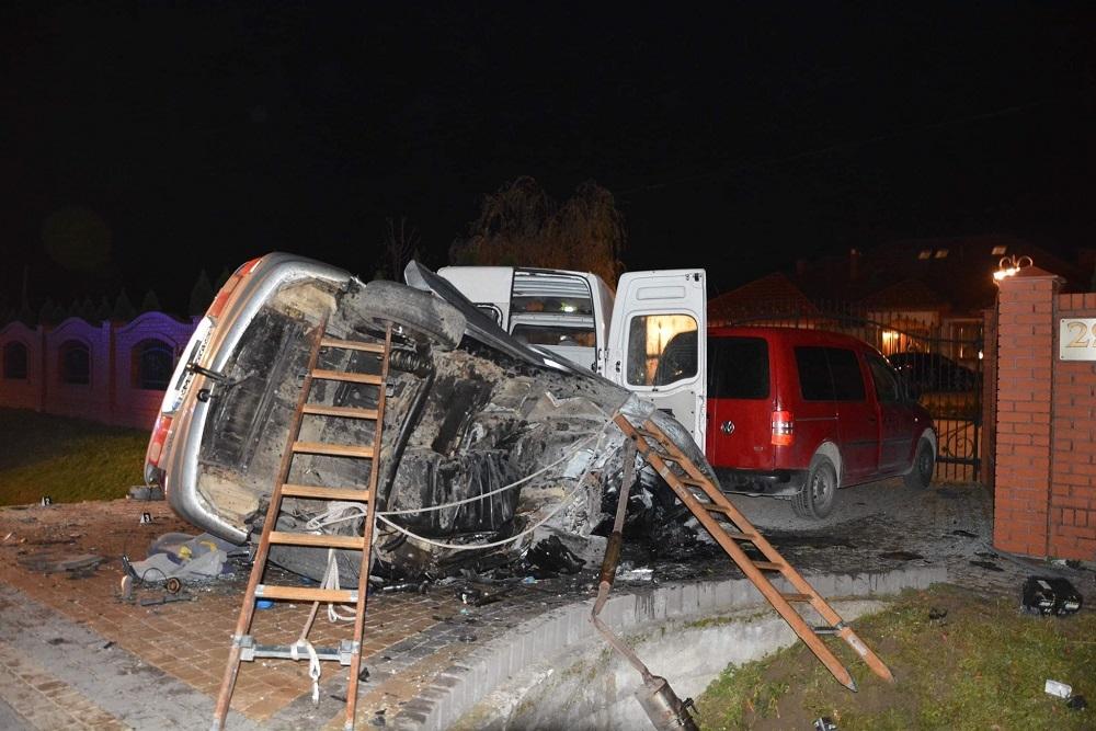 Wypadek w Rudzie. Znamy szczegółowy przebieg zdarzenia  - Zdjęcie główne