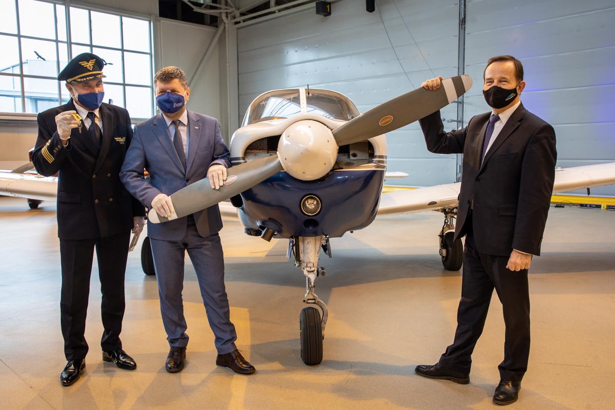 Samolot dla przyszłych pilotów ze wsparciem samorządu województwa - Zdjęcie główne