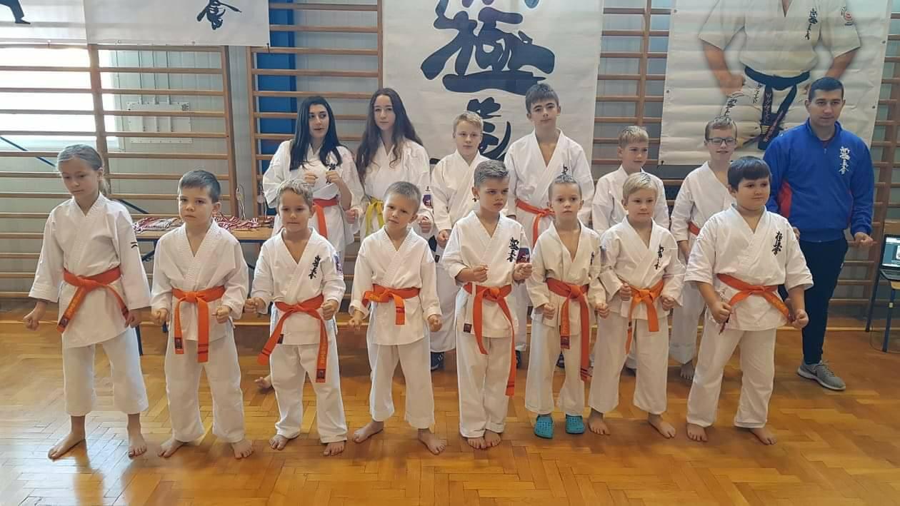 Mieleccy karatecy przywożą medale z ligi karate [FOTO] - Zdjęcie główne