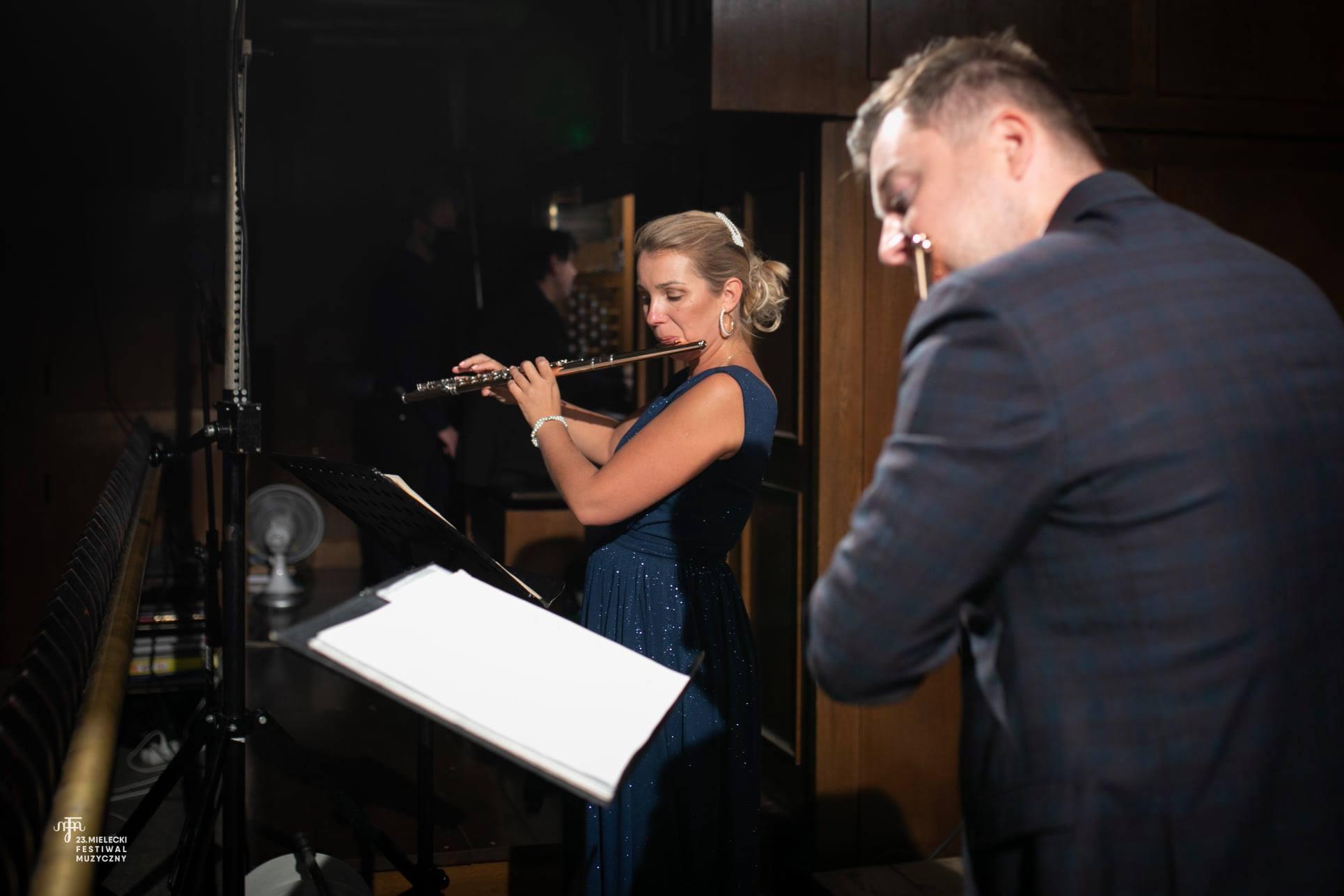 Znany duet flecistów w Mielcu w ramach mieleckiego festiwalu [FOTO] - Zdjęcie główne