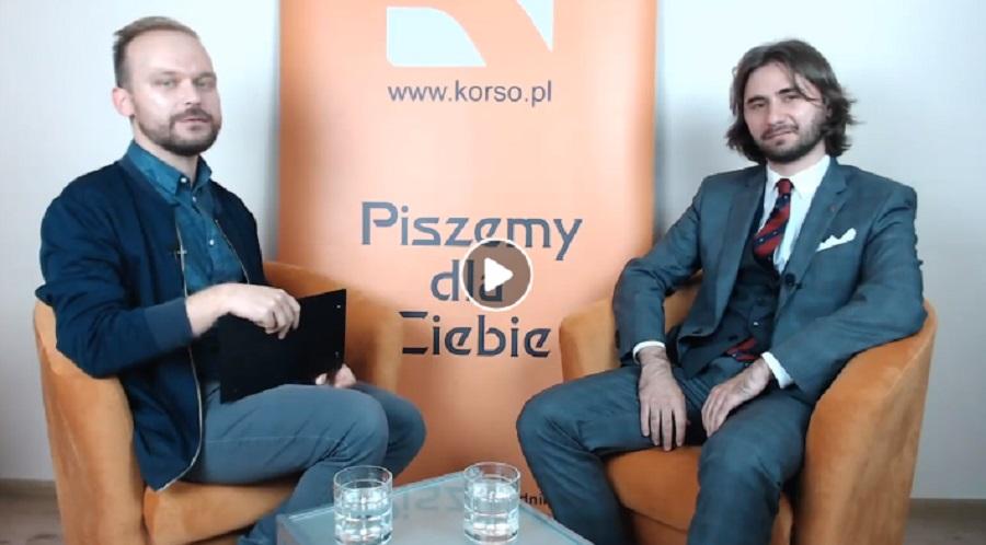 Rozmowy z Korso - Mikołaj Pisarski [VIDEO]  - Zdjęcie główne