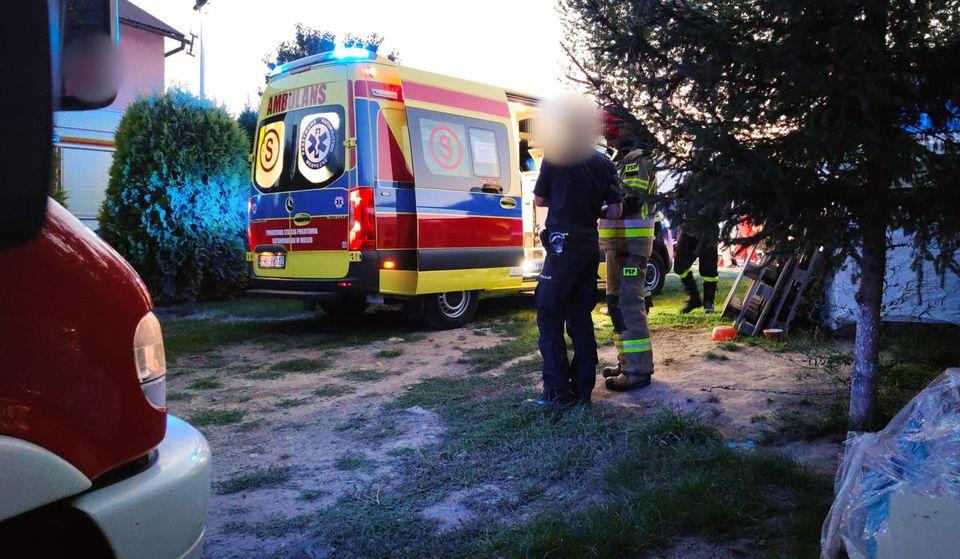 Tragiczny wypadek w Sadkowej Górze!  - Zdjęcie główne