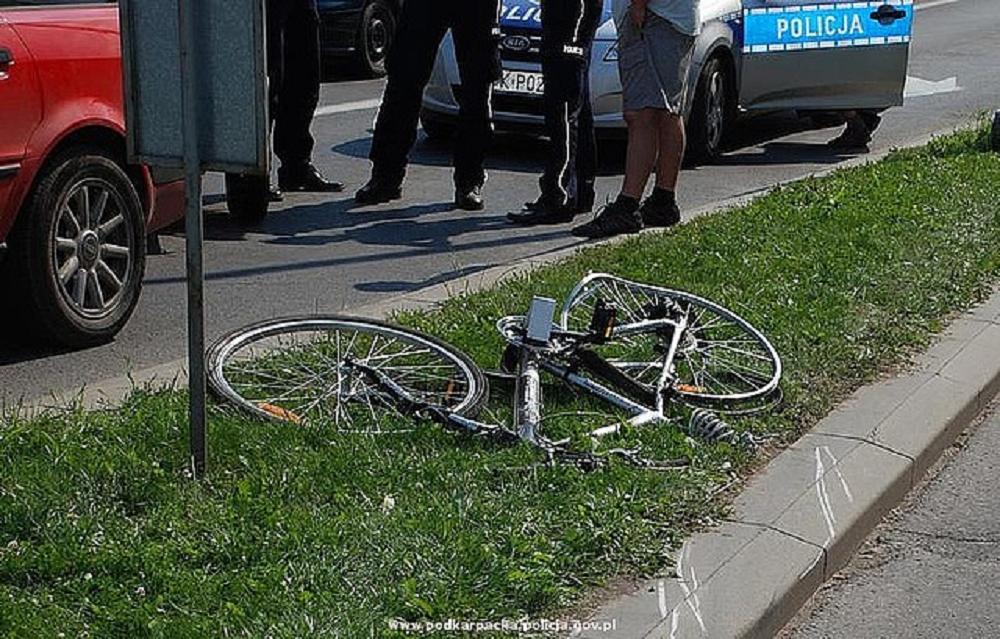 Rowerzyści ofiarami wypadków - Zdjęcie główne