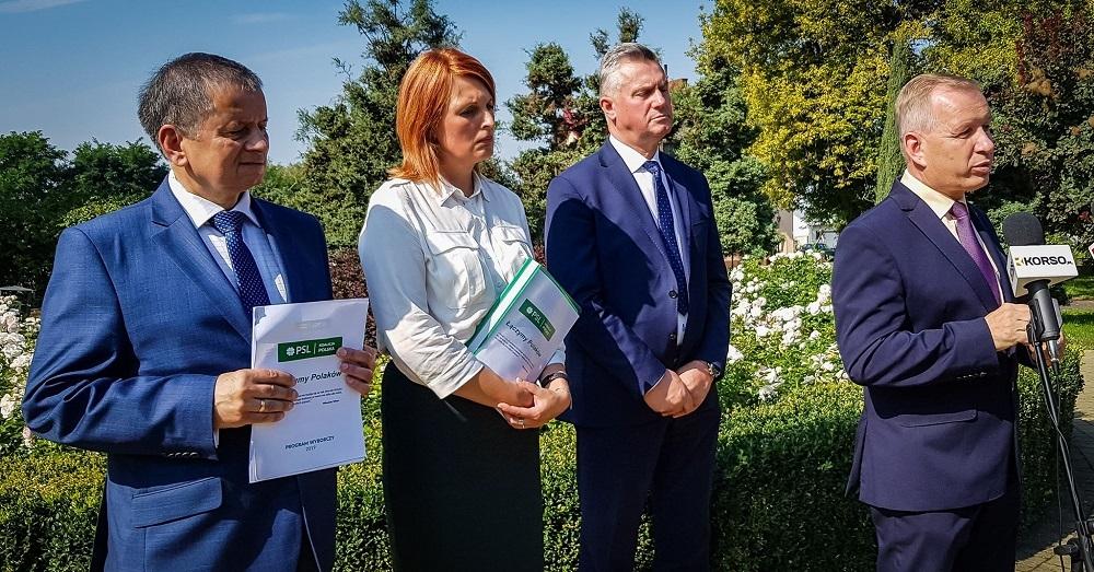 Mielecki PSL z Koalicji Polskiej przedstawił swoich kandydatów - Zdjęcie główne