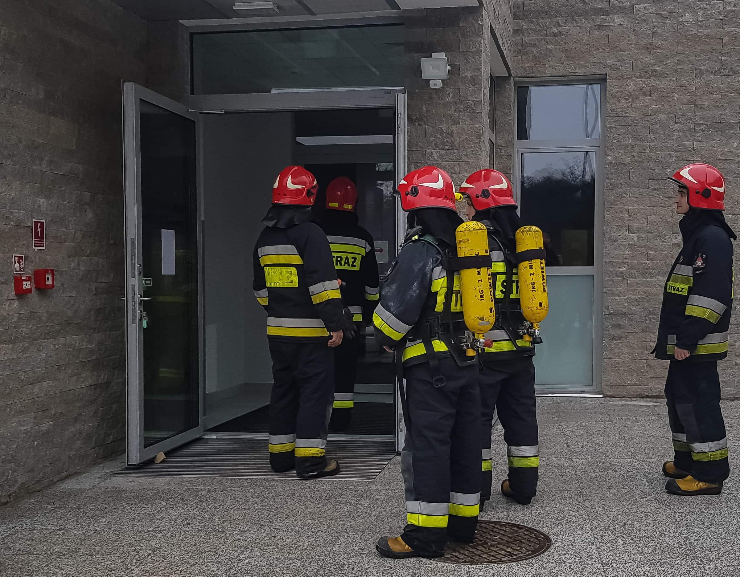 Interwencja straży pożarnej w mieleckim szpitalu! - Zdjęcie główne