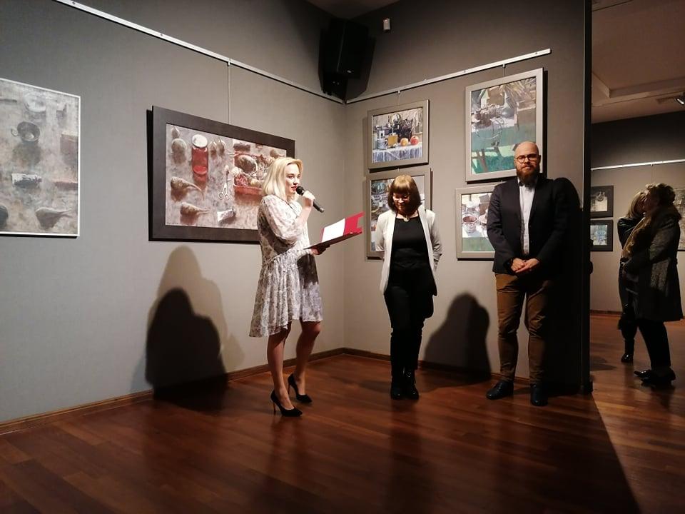 Mielec: W Galerii ESCEK można zobaczyć przekrój twórczości Ryszarda Gancarza - Zdjęcie główne