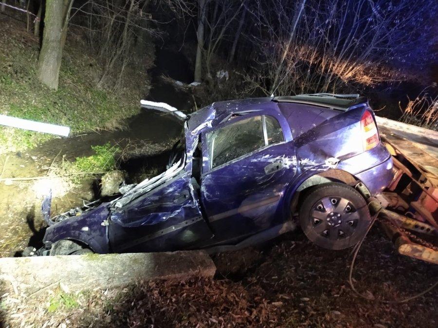 Z PODKARPACIA. Uderzył autem w betonowy most. Zginął [FOTO] - Zdjęcie główne