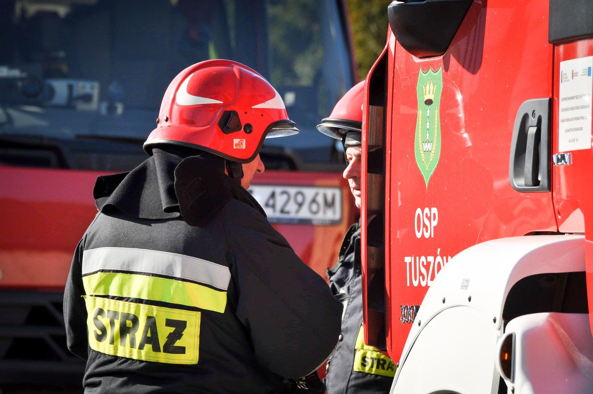 W Maliniu interweniowało kilka zastępów straży pożarnej - Zdjęcie główne