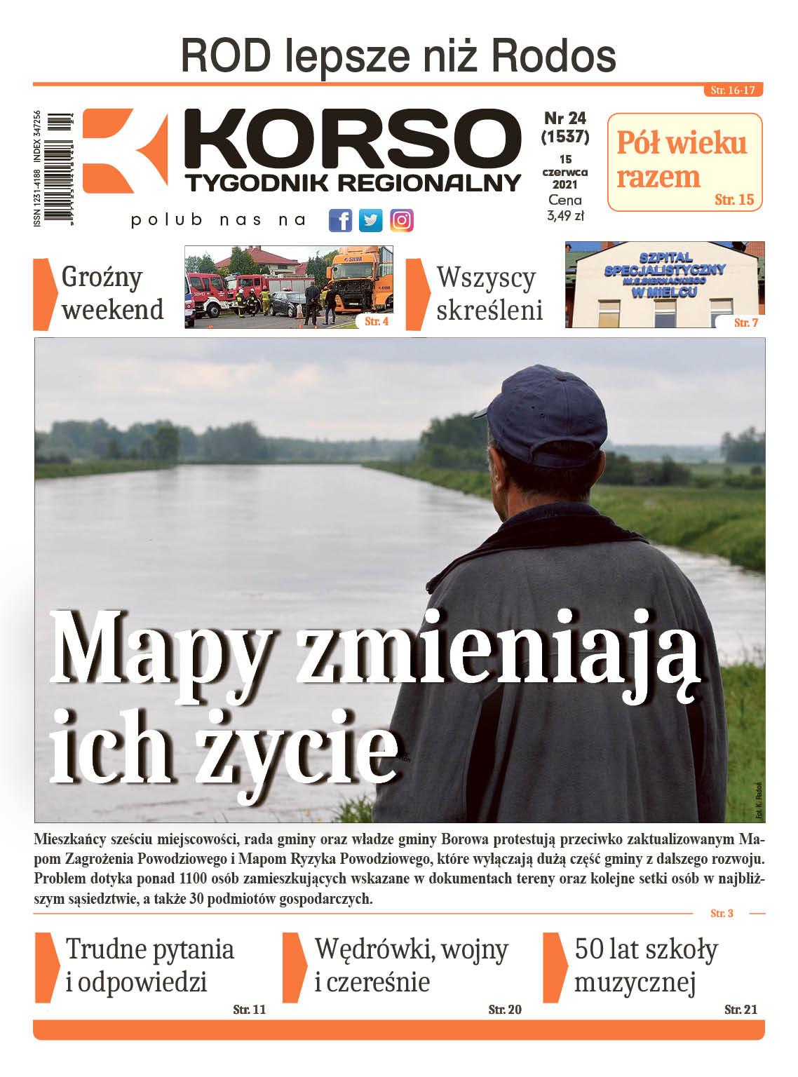 Tygodnik Regionalny KORSO nr 24/2021 - Zdjęcie główne