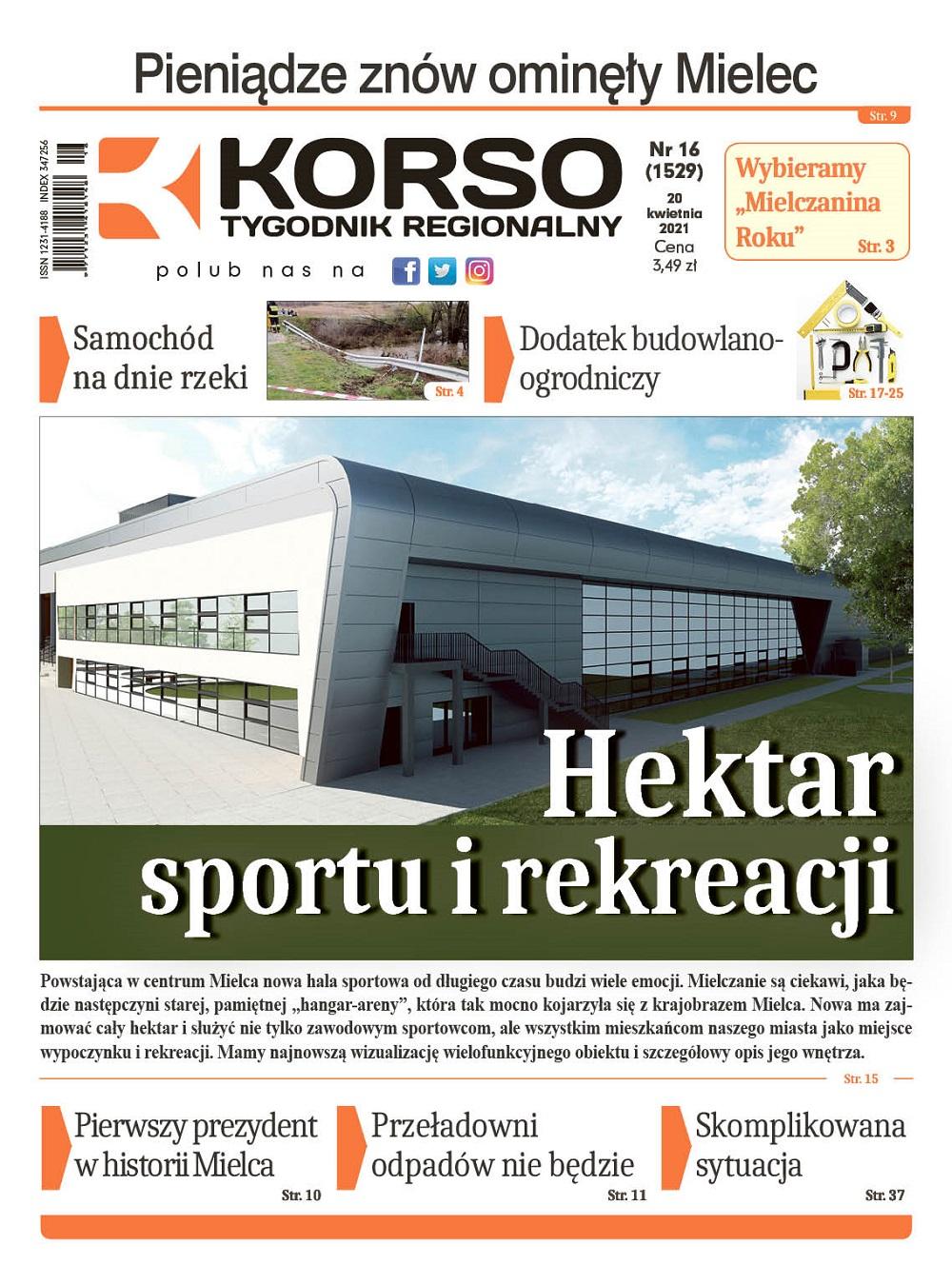 Tygodnik Regionalny KORSO nr 14/2021 - Zdjęcie główne