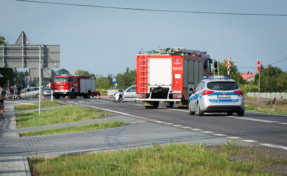 Droga Mielec - Tuszów Narodowy zablokowana! [FOTO, VIDEO] - Zdjęcie główne