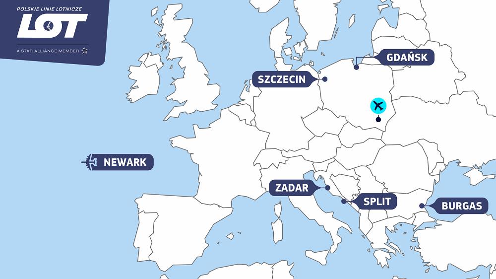 Split i Burgas w wakacyjnej ofercie lotów z Jasionki - Zdjęcie główne