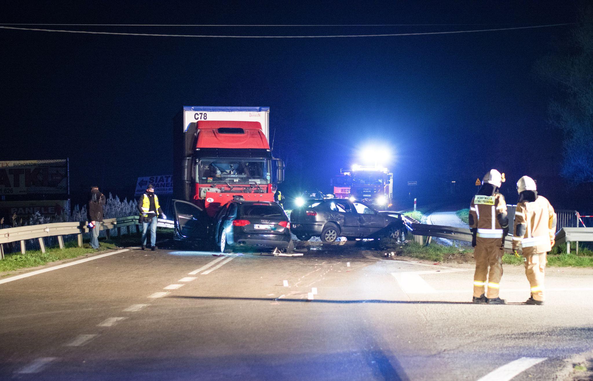 8 osób rannych w wypadku w Suchorzowie. Mamy nowe informacje! [ZDJĘCIA] - Zdjęcie główne