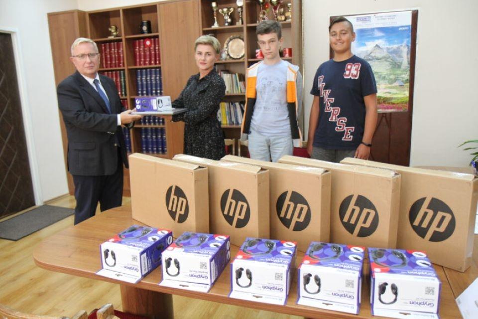 Laptopy dla mieleckich podstawówek - Zdjęcie główne