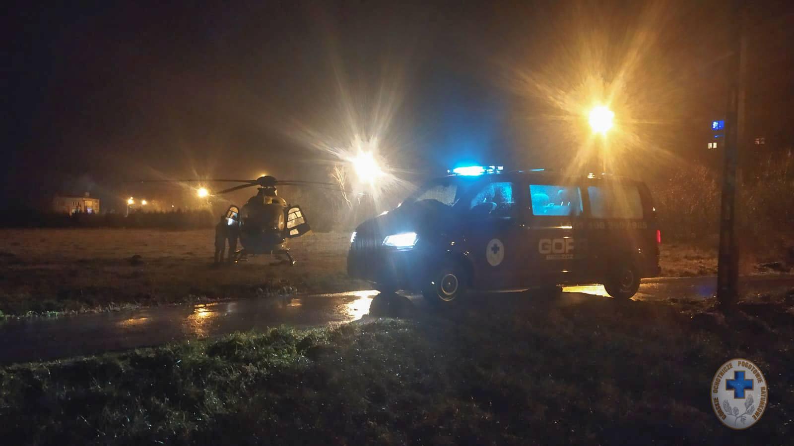 Ratownicy GOPR ruszyli na pomoc mężczyźnie. Śmigłowiec uziemiony - Zdjęcie główne