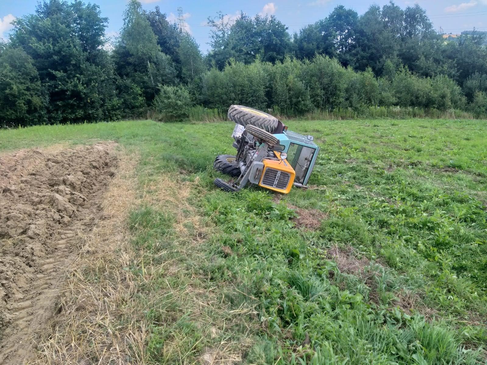 Region. Przygnieciony przez traktor, zraniony przez kombajn - Zdjęcie główne
