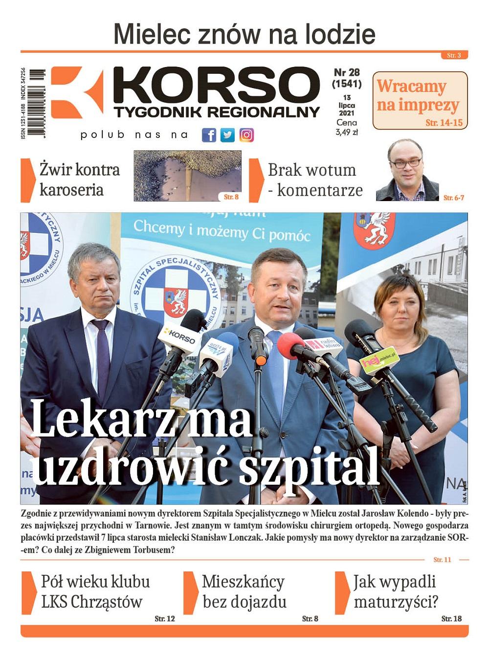 Tygodnik Regionalny KORSO nr 28/2021 - Zdjęcie główne