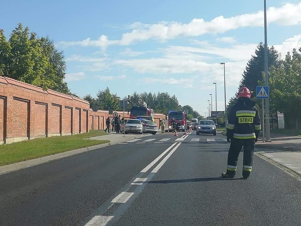 Mielec: Zderzenie trzech pojazdów i ruch wahadłowy - Zdjęcie główne