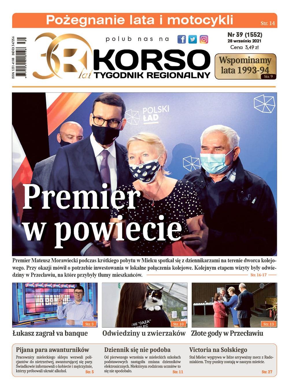 Tygodnik Regionalny KORSO nr 39/2021 - Zdjęcie główne