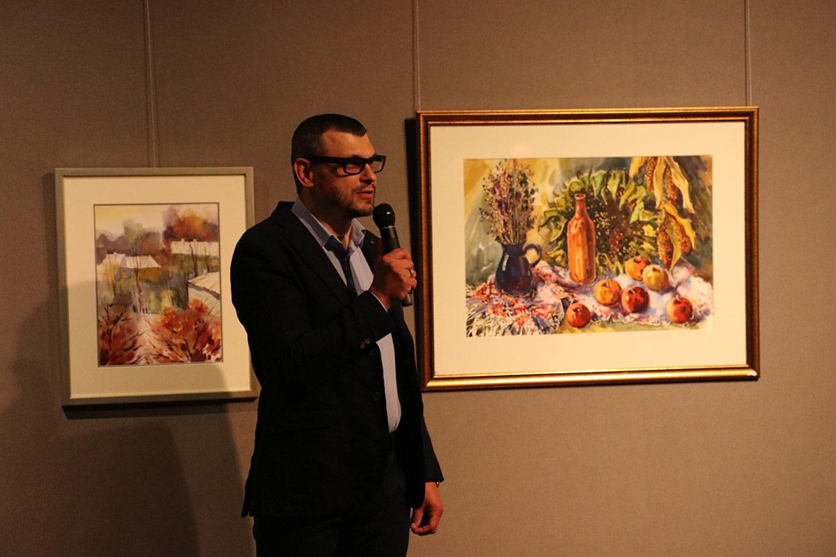Akwarele i oleje na wystawie Yasina - Zdjęcie główne