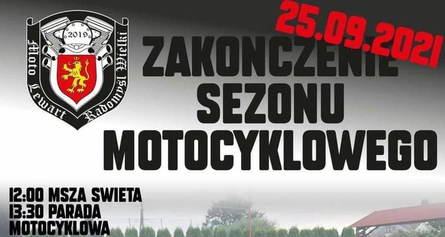 W Radomyślu motocykliści zakończą sezon - Zdjęcie główne