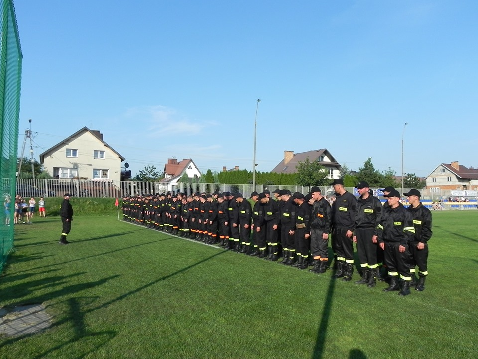 Zawody strażackie gminy Czermin - Zdjęcie główne