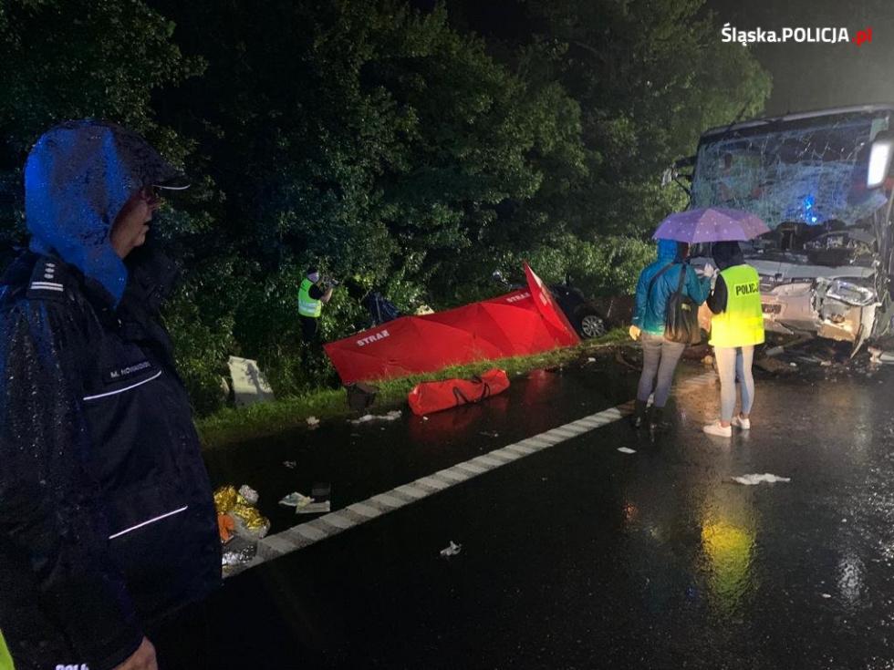 Tragiczny wypadek na Śląsku. Wśród ofiar 7 mieszkańców Podkarpacia - Zdjęcie główne