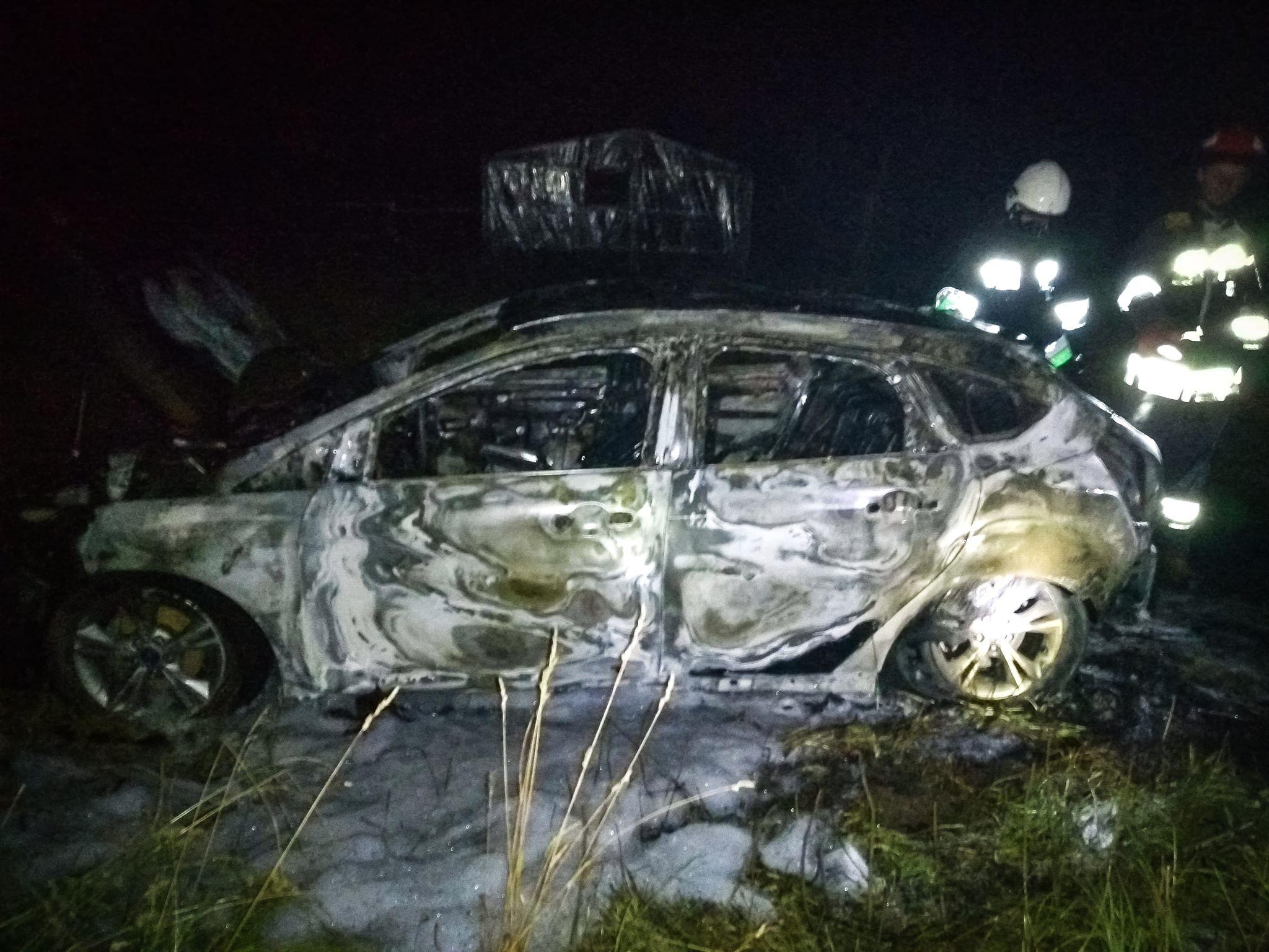 Tuszyma: Dwa wybuchy i samochód w ogniu! - Zdjęcie główne